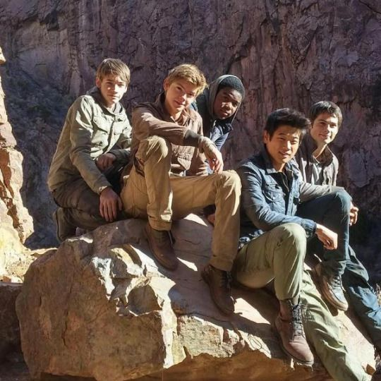 #TheScorchTrials cast