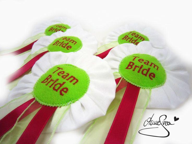 TEAM BRIDE JunggesellinnenAbschied Hochzeit JGA von www.annesvea.de