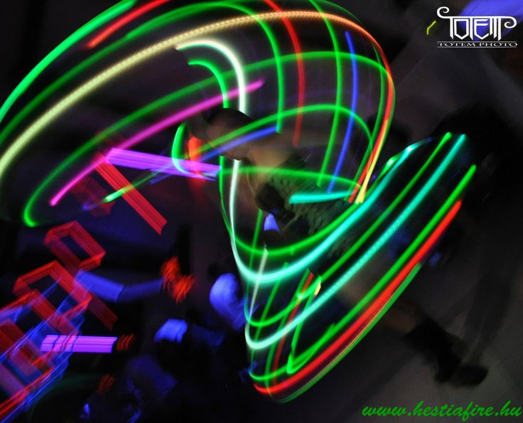 Led light show- light juggling - hulahoop - party
