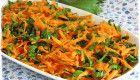 Kereviz Yapraklı Havuç Salatası