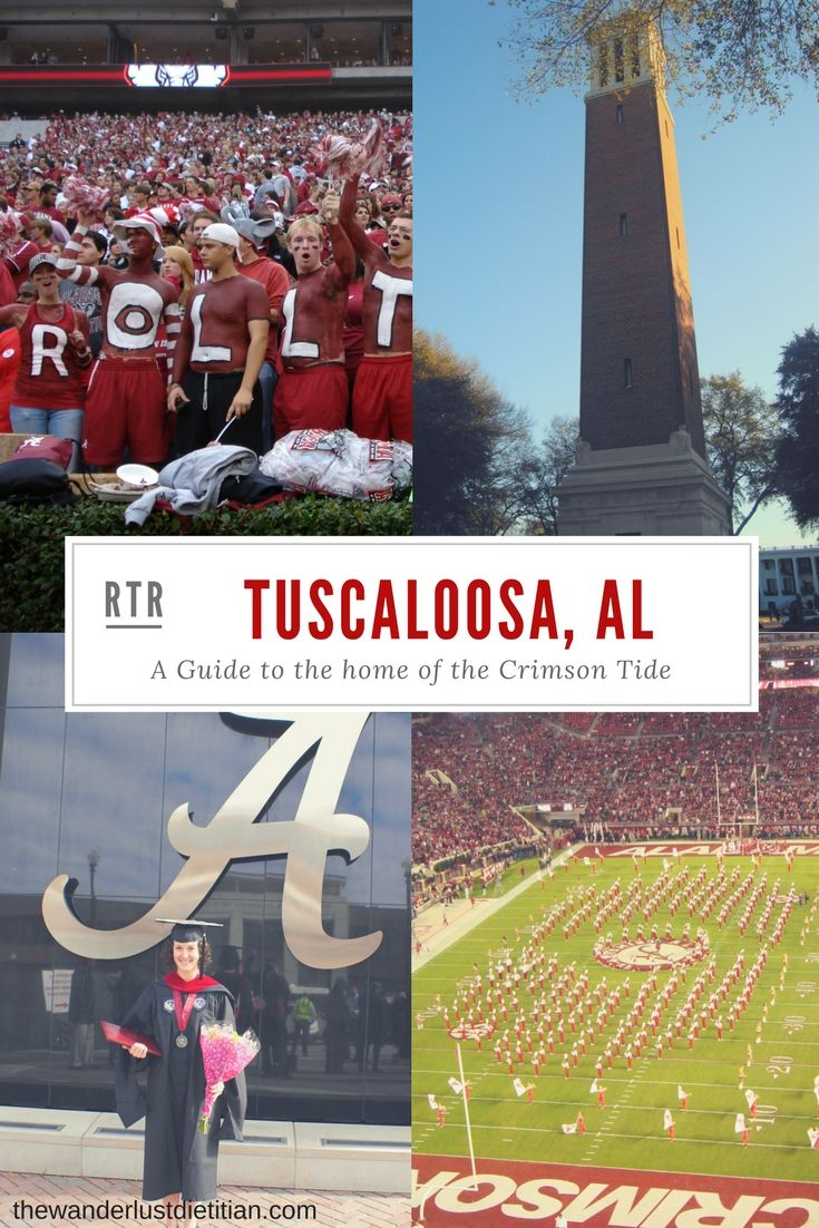 Looking to catch a football game this Fall or want to explore a new city in North Alabama? Here is your guide to Tuscaloosa!