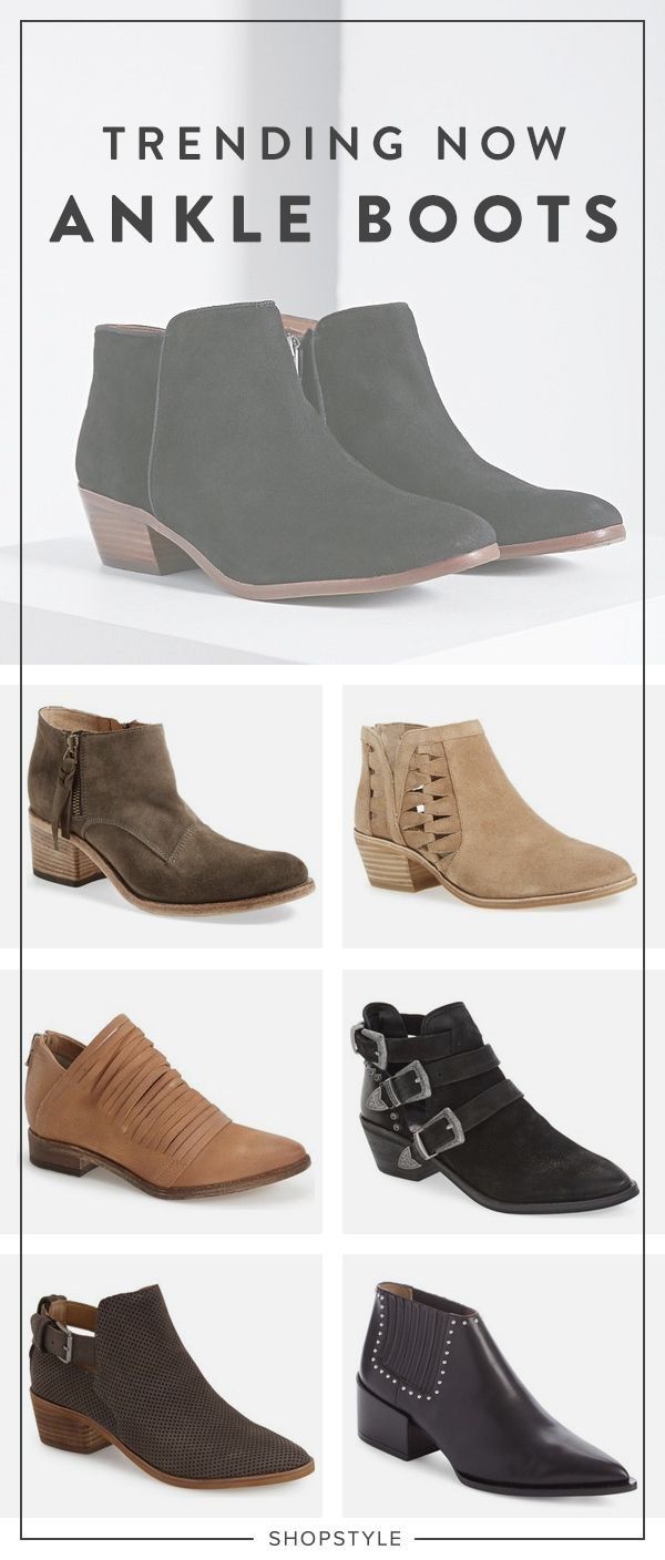 Trending Now: Ankle Boots