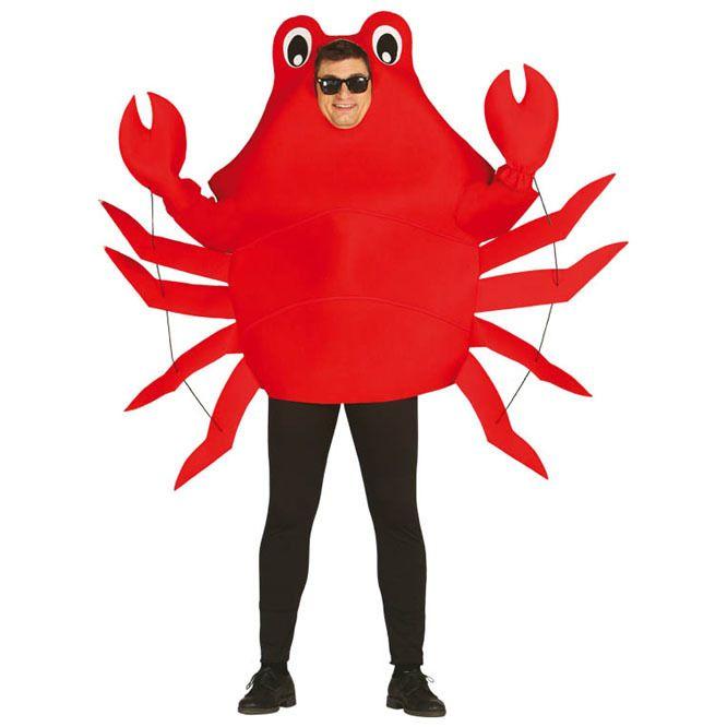 Disfraz de Cangrejo para adulto