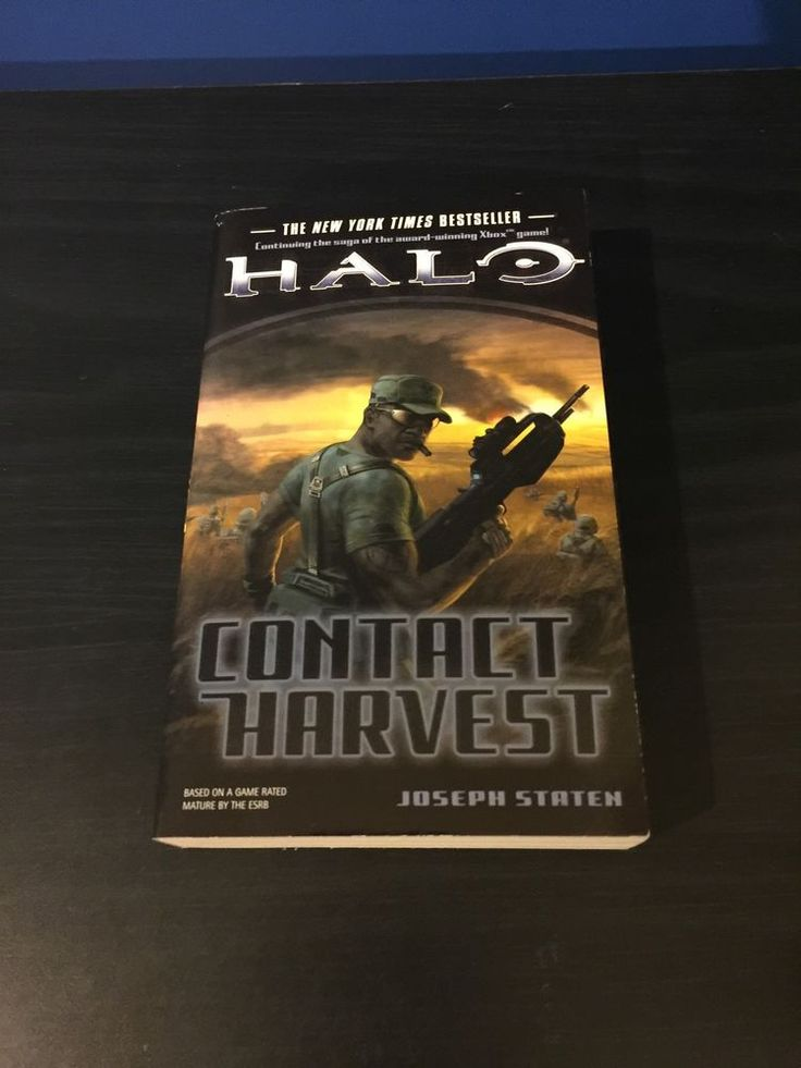 Halo Contact Harvest Book 5 By Joseph Staten  2009  Paperback  Brand New  Bungie