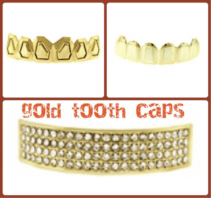 Gold Tooth Caps like good old day Hip Hop stars are now available online at http://www.bling-king.co.uk/c-160-tooth-caps.aspx. Show the expensive glittering smile to the world.
