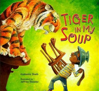 When a boy is left in the care of his older sister, he begs her to read him his favorite book, but she is too absorbed in her own reading to pay him any attention. She won't be distracted, even when the boy finds a ravenous tiger hiding in his soup! His sister misses all the action