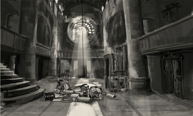 Lobby. Concept art from Clockwork Tales: Of Glass and Ink #steampunk #adventure #game www.artifexmundi.com/page/clockwork/ www.facebook.com/ArtifexMundi.ClockworkTales
