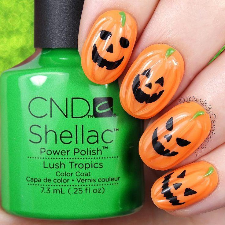 Mejores 791 imágenes de Halloween nails en Pinterest | Arte de uñas ...