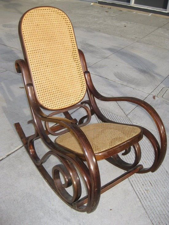 I had one just like it for many years until one of my new puppies chewed the rockers and made a mess out of it !!!
