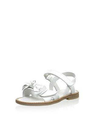 66% OFF Ciao Bimbi Kid's Hook-and-Loop Sandal (Naplak Bianco)