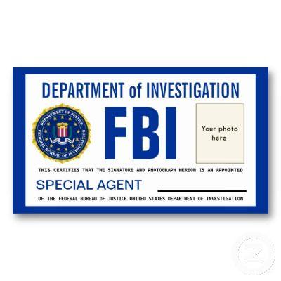 Gorgeous image pertaining to printable fbi badge