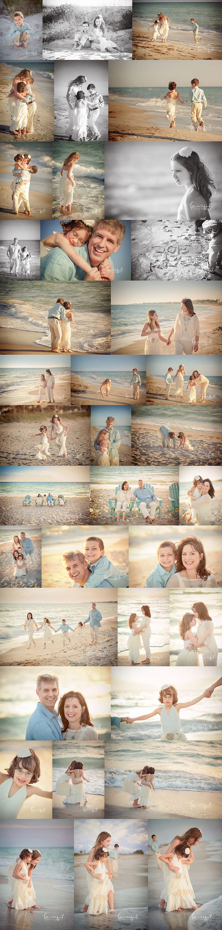 Lifestyle Family Beach Portraits. Longboat Key Family Photographer | http://fancifulphotography.com