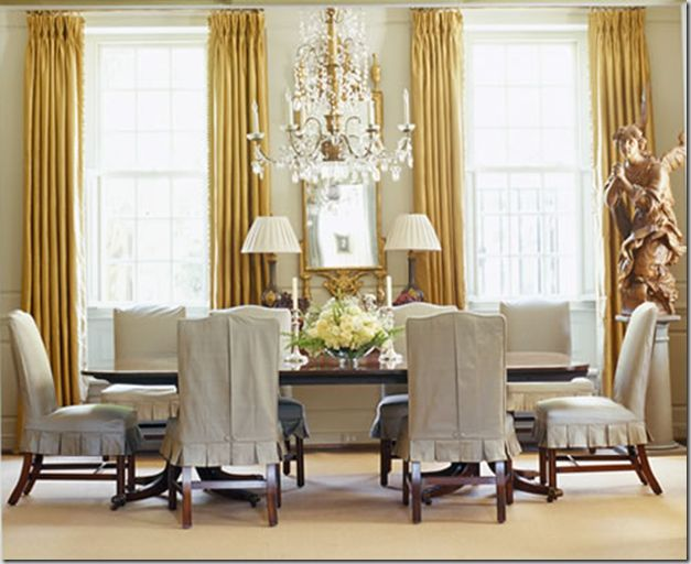 Chair Covers · Dining Chair SlipcoversDining Room ...