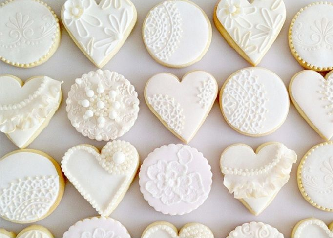 This Last Image Is Of Lace Cookies Made With The SugarVeil Technique Instead Piping