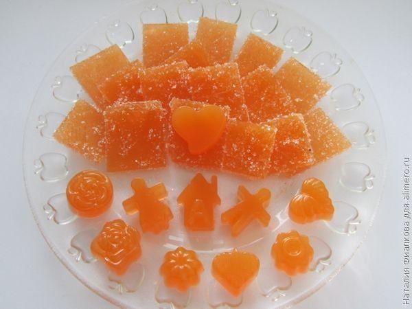 Домашний мармелад из сока и агар агара / Рецепты с фото
