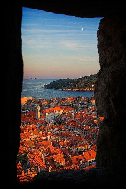 "Dubrovnik Croatia, a stunning medieval city that  has been described as ""The Pearl of the Adriatic""!"