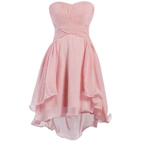 1000  ideas about Pink Chiffon Dress on Pinterest  Ball dresses ...