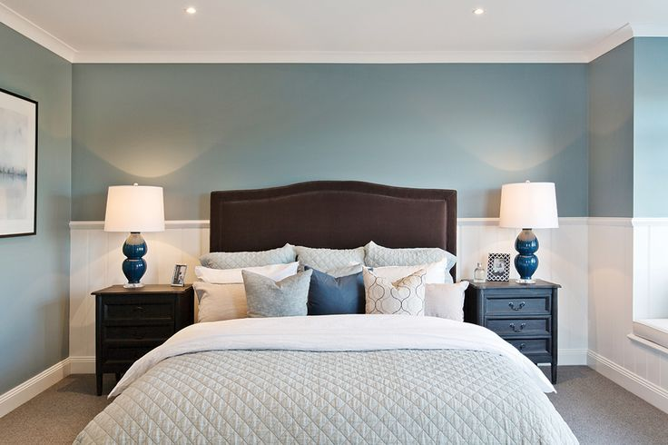 7-Star luxury master bedroom in the Astor Grange with a Classic Hamptons World of Style.