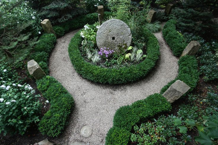 230 best great garden design images on pinterest for Moon garden designs