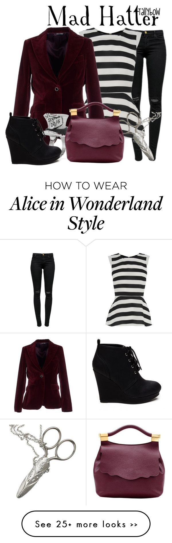 """Mad Hatter (Tim Burton's Alice in Wonderland)"" by tallybow on Polyvore"