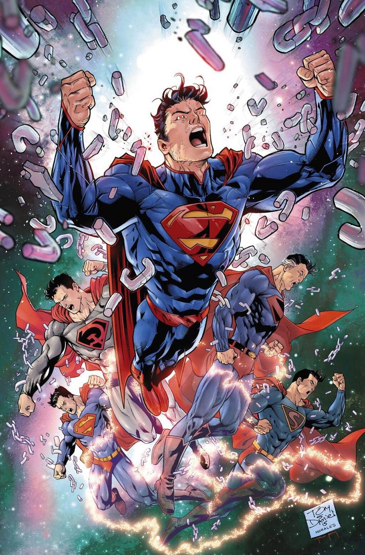 Convergence #0 variant cover by Tony S. Daniel (pencils), Mark Morales (inks) and Tomeu Morey (colors)