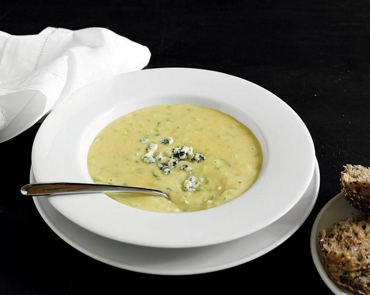 Le Café Telephonique's Blue Cheese, Kumara & Courgette Soup