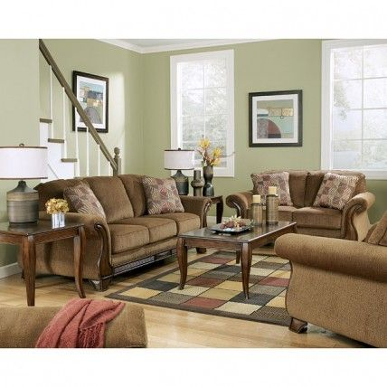 Montgomery Mocha Living Room Set Signature Design By 1StopBedrooms | Buy  Bedroom Furniture Sets | Free Part 95