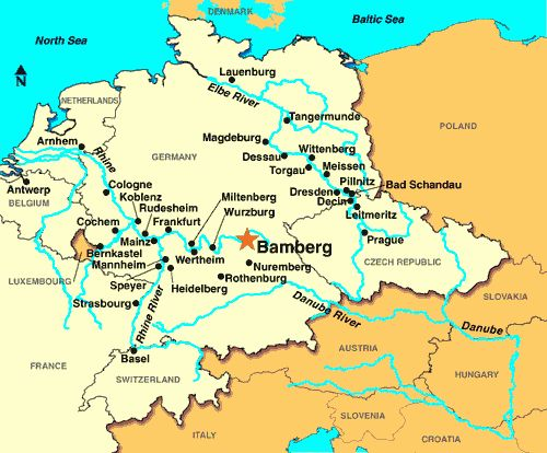 Bamberg Germany Map Bamberg Germany Map | World Map 07