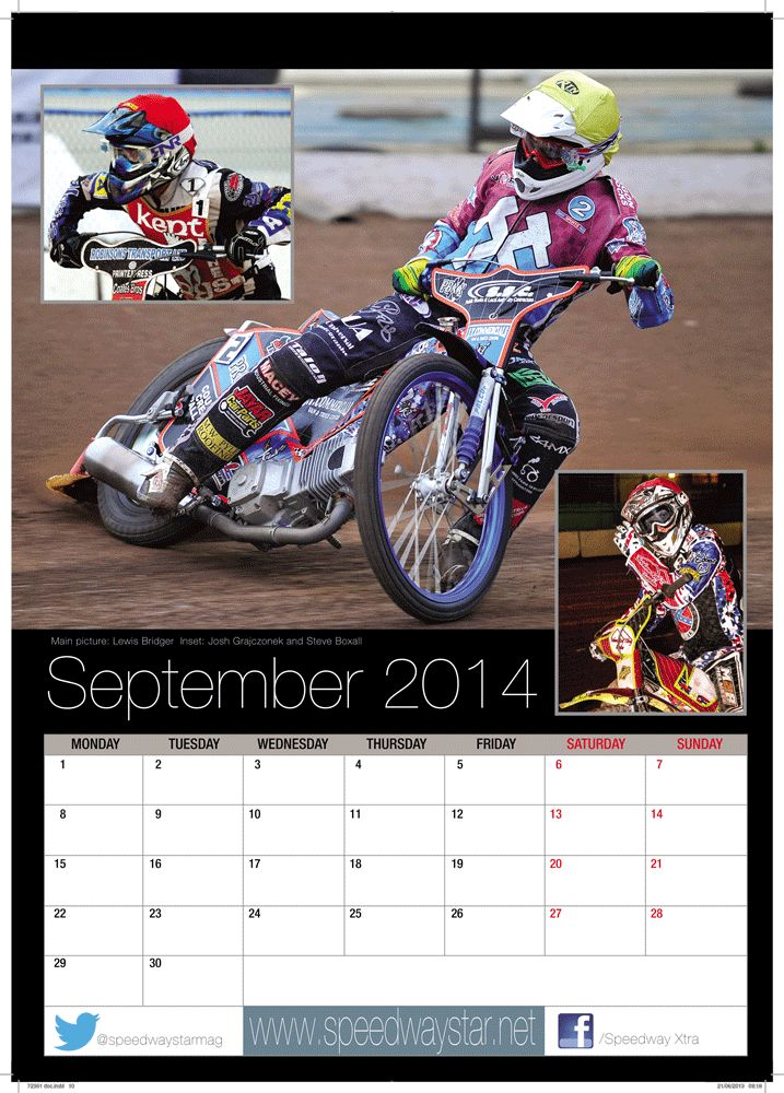 Main picture: Lewis Bridger  Inset: Josh Grajczonek and Steve Boxall http://www.azimuthprint.co.uk/printing/wall-calendars/