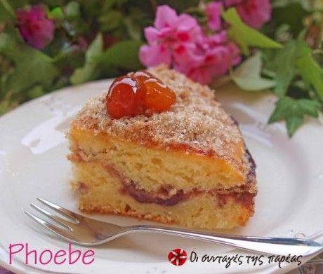 Κέικ με μαρμελάδα
