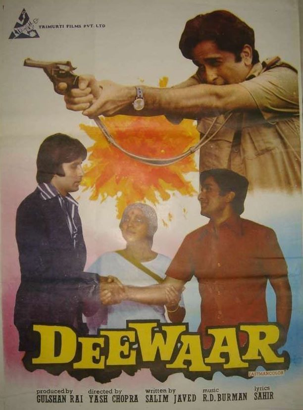 deewar 1975 amitabh bachchans hindi bollywood film