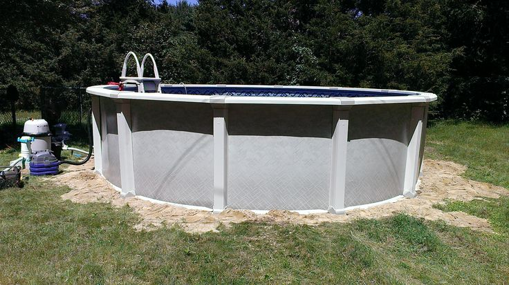 Aqua leader all resin pool 54 with a ten inch true radius - Above ground swimming pools tyler texas ...