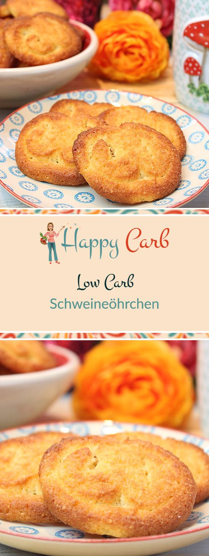 Keksige Schweineöhrchen. Low Carb, ohne Kohlenhydrate, Glutenfrei, Low Carb Rezepte, Low Carb Backen, ohne Zucker essen, ohne Zucker Rezepte, Zuckerfrei, Zuckerfreie Rezepte, Zuckerfreie Ernährung, Gesunde Rezepte, #deutsch #foodblog #lowcarb #lowcarbrezepte #ohnekohlenhydrate #zuckerfrei #ohnezucker #rezepteohnezucker