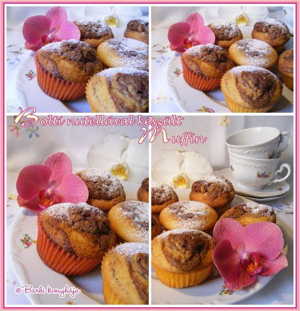 Barbi konyhája: muffin
