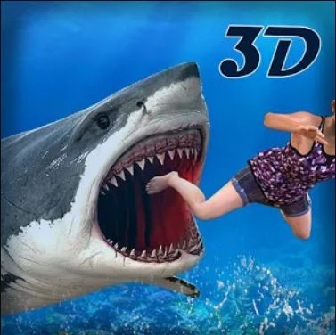 Angry Real Shark Simulator: Whale Attack Survival: Beach towns never feel safe with so many sharks swimming in the water. Here meet the hungry sharks that are extremely aggressive, and want to quench everything along their way.
