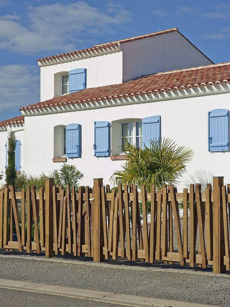 les 25 meilleures id es de la cat gorie portillon bois sur pinterest portes de patio modernes. Black Bedroom Furniture Sets. Home Design Ideas
