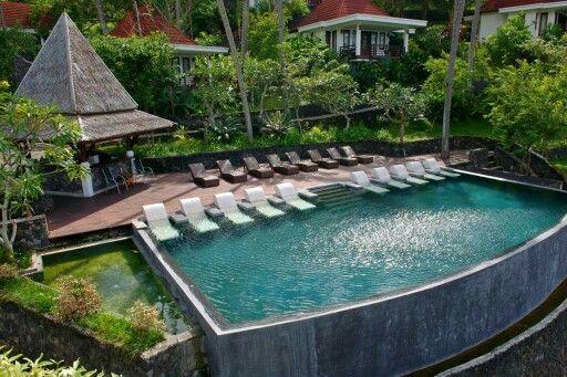 Infinity Pool @ Dabirahe       #dabirahe #lembehhills #bitung #dive #lembeh #holiday #spa