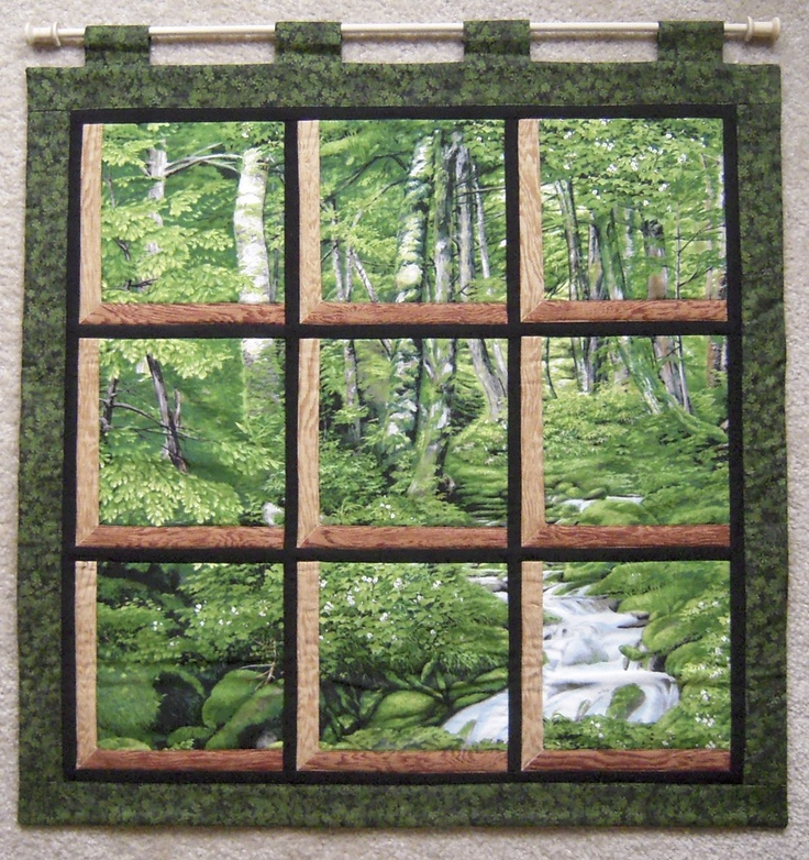 17 best images about quilts attic windows on pinterest for Window pane quilt design