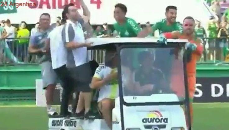 Chapecoense: dramática entrada a la Libertadores y un festejo para llorar de emoción