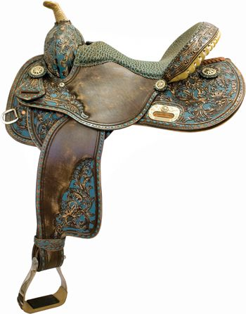 Tex Tan Old Santa Fe Racer Saddle | ChickSaddlery.com. I wish they made pleasure type saddles like this....
