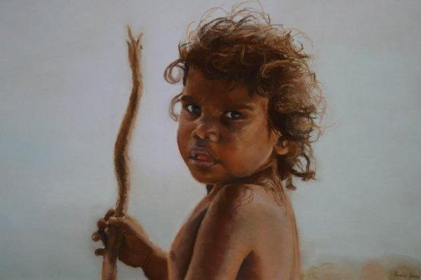 "Aboriginal Boy ""Marghanpa"" / Rosie Jones"