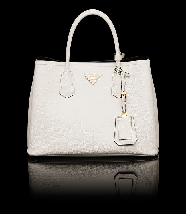 price of prada handbags - prada galleria bag chalk white/mimosa yellow