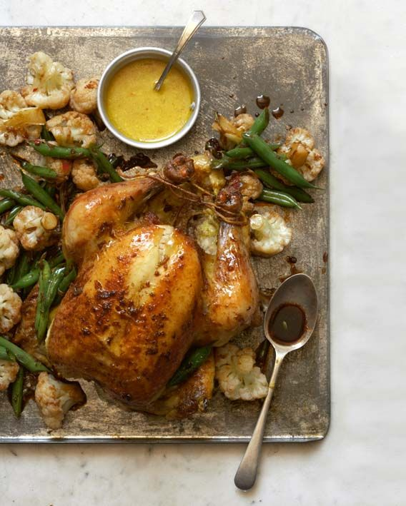 Indonesian-style roast chicken