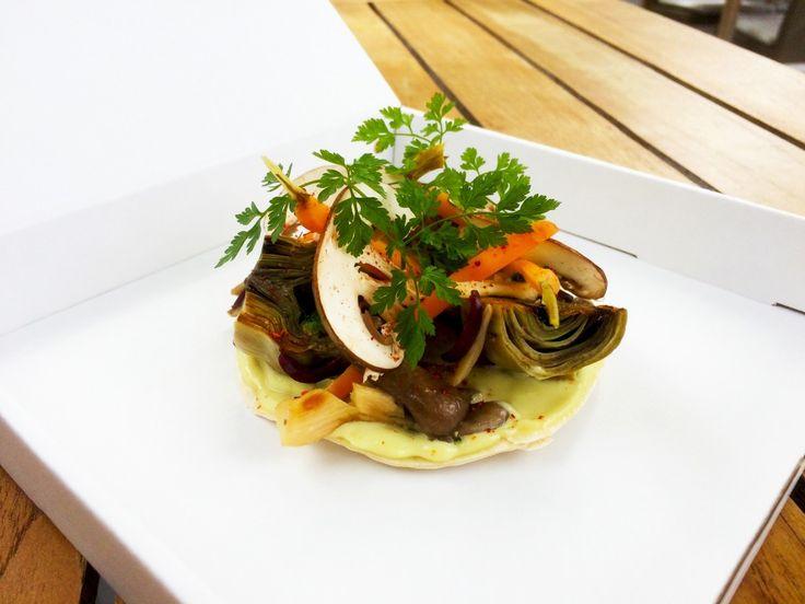 Vegetarisch eten staat op de kaart, ook bij de sterrenrestaurants! Hier vind je exclusief een vegetarisch recept van Ron Blaauw van Ron Gastrobar in A'dam.