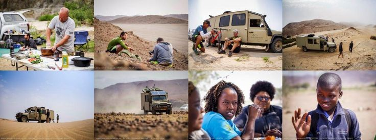 Beautiful photo essay from #BeyondTheDesertEdge's  Jacques Marais on  his epic and inspiring adventure and fundraising campaign for Children in the Wilderness with Peter Van Kets.