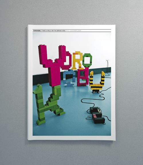 YOROKOBU by Santos Henarejos, via Behance