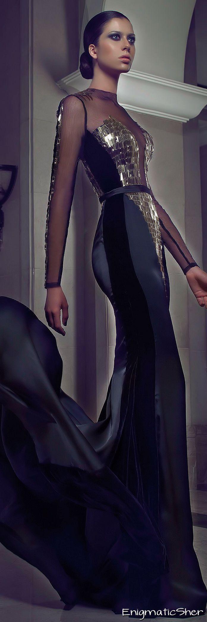 Charbel Karam Fall-winter 2014-2015 Couture