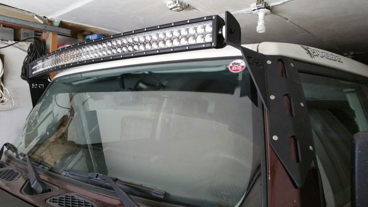 My FJ gets a new light setup.