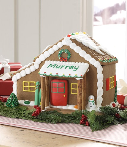 Gingerbread Cabin from L.L. BeanLlbean Direction, L L Beans, Holiday Spirit, Gingerbread House, Holiday Gifts, Christmas Decor, Mr. Beans, Gingerbread Cabin, Business