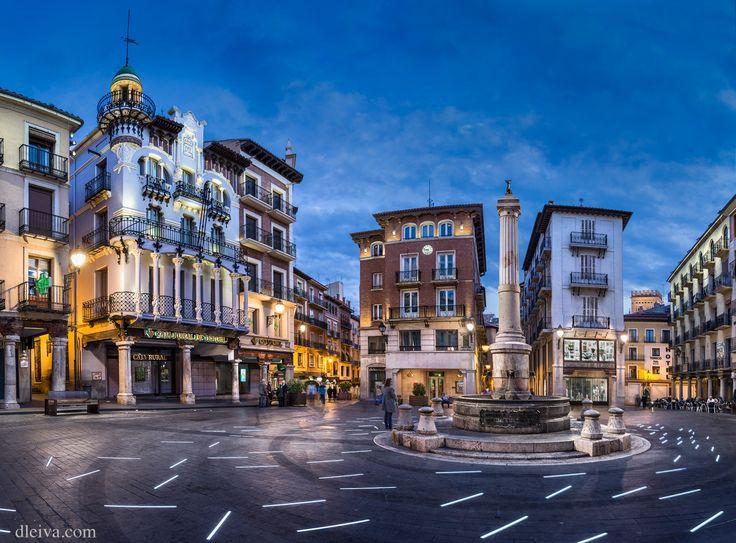 """Plaza del Torico (Teruel, Spain) - <a href=""""http://dleiva.com/"""" rel=""""nofollow"""">dleiva.com/</a>"""